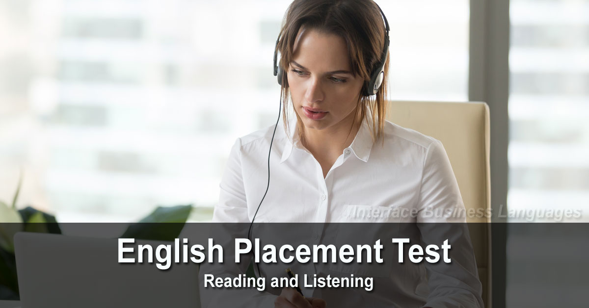 English Placement Test (100 questions)