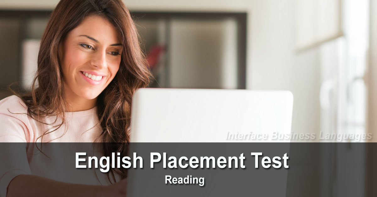English Placement Test (50 questions)
